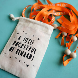 Personalised Little Pocketful Of Rewards