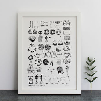 Sugar And Spice And All Things Nice Print