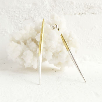 alice eden porcupine quill earrings