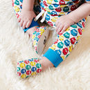 Rainbow Owls Mini Shoes, Pull On Baby Shoes