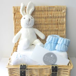 Newborn Baby Boy Hamper - sleeping