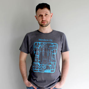 Recycled Cotton Mens Adventure Kit T Shirt