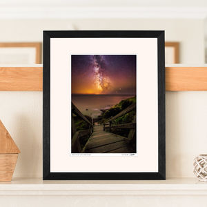 'Step To The Stars'' Milky Way Print - nature & landscape