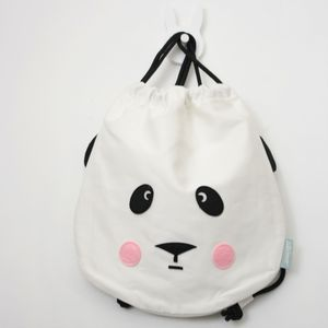 Contemporary Design Panda Drawstring Bag - bags, purses & wallets