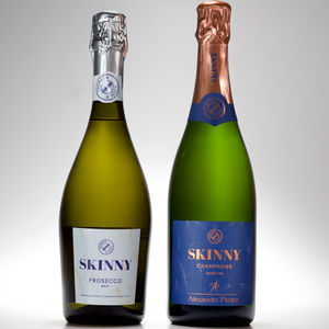 Skinny Prosecco And Champagne Duo Pack - housewarming gifts