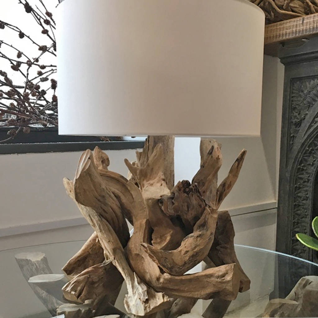 Stumpy driftwood table lamp natural by doris brixham stumpy driftwood table lamp natural mozeypictures Gallery