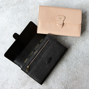 Personalised Real Leather Travel Wallet - shop by recipient