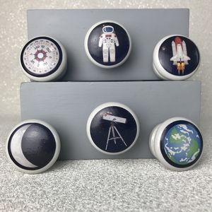 Children's Space Explorer Door Drawer Knob