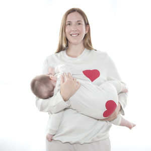 Breastfeeding Pyjama With Matching Baby Romper