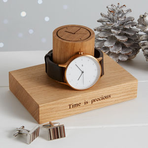 Gent's Single Watch Stand - personalised jewellery