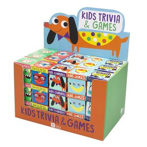 Kids Trivia And Games - party bags and ideas