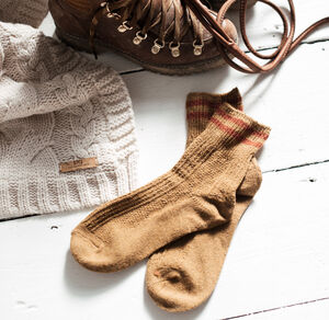 Warm Walking Boot Socks