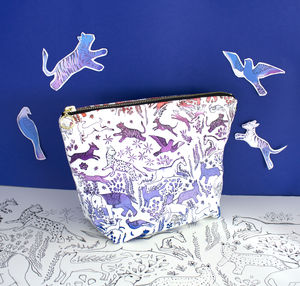 Cotton Wash Bag With Persia Print - view all new