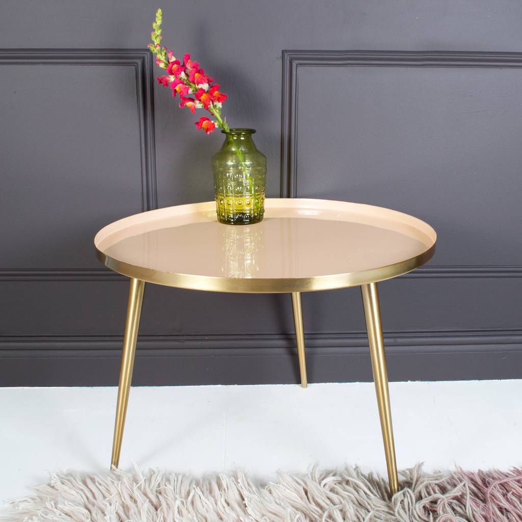 Pastel Lustre Occasional Table