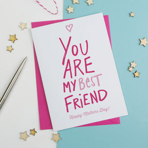 Best Friend Mothers Day Card - whats new