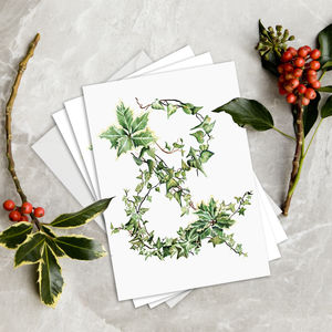 The Holly And The Ivy Designer Christmas Card Packs - cards & wrap