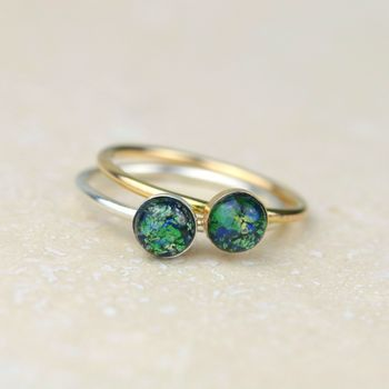Earth Stacking Ring