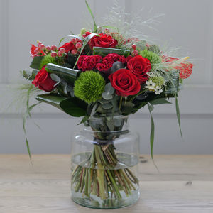 Christmas Rose Luxury Flower Bouquet - home accessories