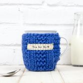 Personalised Knitted Mug Cosy - corporate gifts