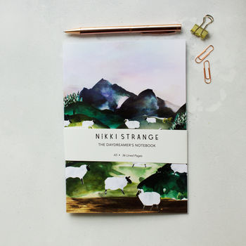Sheep Valley A5 Notebook With Lined Pages