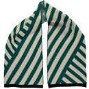 Stripe Scarf Teal
