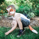 Fox Mask And Tail Children's Costume