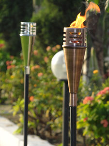 Outdoor Copper Oil Torch - new in garden