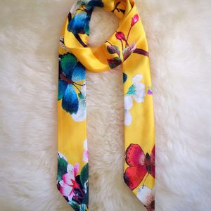 Lily Tropical Print Scarf