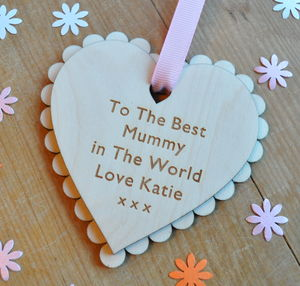 Special Message Mother's Day Heart - gifts for the home