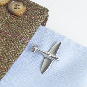 Spitfire Cufflinks, Spitfire Gifts - men's accessories