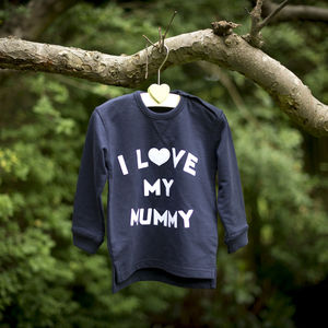 I Love My Mummy Baby Sweatshirt