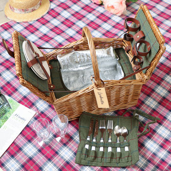 Chartwell Personalised Wedding Two Person Picnic Hamper
