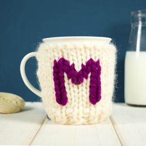 Personalised Initial Mug And Cosy - kitchen accessories