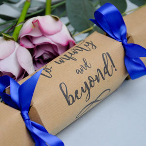 Wedding Favour Crackers To Infinity And Beyond - wedding favours