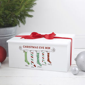 Luxury Personalised Christmas Eve Family Box