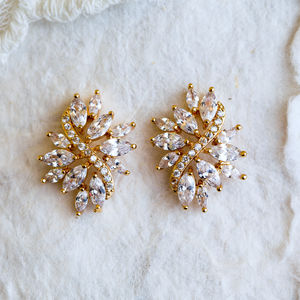 Astrid Cluster Stud Earrings