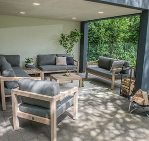 Evora Outdoor Chairs Or Corner Sofa - garden styling