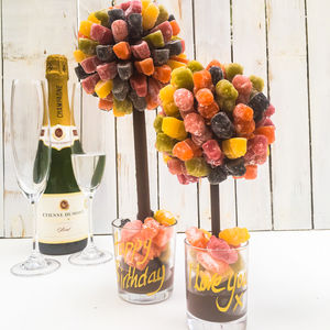 Personalised Jelly Baby Sweet Tree - chocolates & confectionery