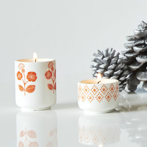 Clynk Retro Candle Holder Set