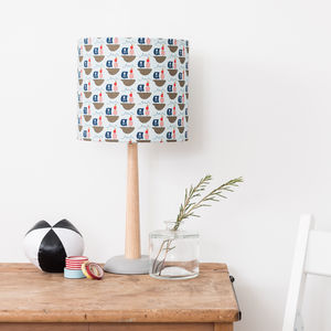 Children's Pirate Print Lampshade