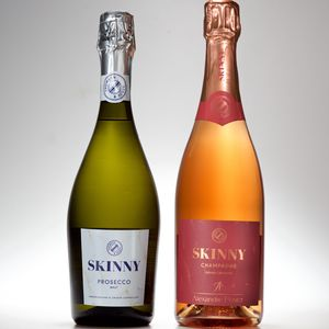 Skinny Prosecco And Rosé Champagne Duo Pack