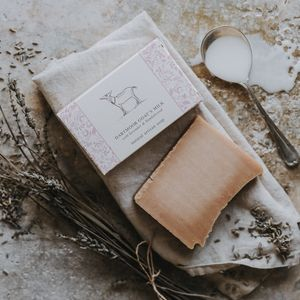 Dartmoor Goat's Milk Soap - bathroom