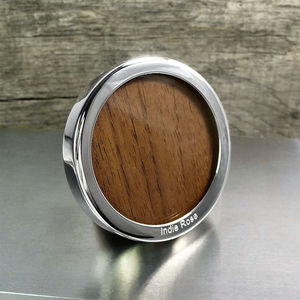 Little Round Silver Photo Frame - picture frames