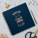 Personalised 'Just My Type' Rose Gold Album