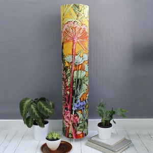Stunning Tropical Botanics Meter High Floor Lamp