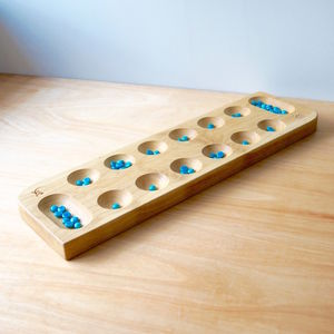 Personalised Wooden Mancala Board