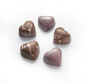 Mini Belgian Chocolate Love Hearts