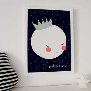 King Moon Children's Print