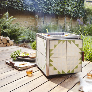 Outdoor Hot Box BBQ Fire Pit - gifts for couples