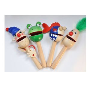 Wooden Clapping Heads - new in baby & child
